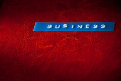 Business title Royalty Free Stock Images