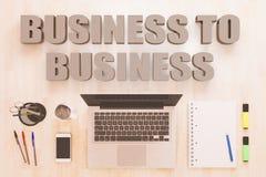 Business to business Immagine Stock Libera da Diritti