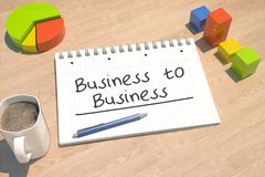 Business to business royalty illustrazione gratis