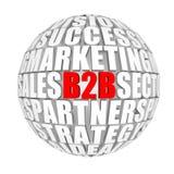 Business to business Fotografia Stock