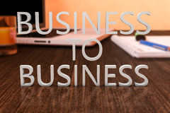Business to business Immagine Stock