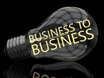 Business to business Fotografie Stock Libere da Diritti