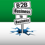 Business to business Royalty Free Stock Images
