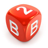 Business To Business Dice Stock Photo