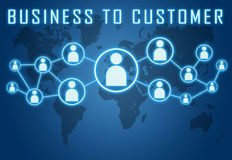 Business to Customer Stock Images