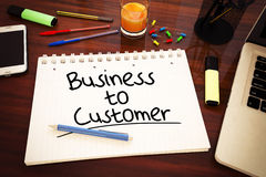 Business to Customer Royalty Free Stock Image