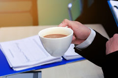 Business to working in office. the concept for successful work to goal of organization. Royalty Free Stock Images