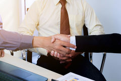 Business to working in office. the concept for successful work to goal of organization. Stock Images
