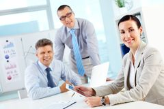 Business together Stock Photo
