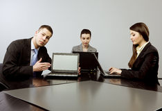 Business together Royalty Free Stock Image