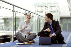 Business together Stock Photography
