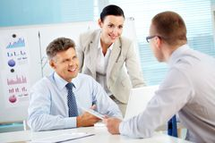 Business togetherness Stock Photography