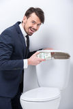 Business. Toilet Stock Images