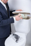 Business. Toilet Stock Photo