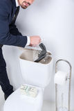Business. Toilet Stock Photography