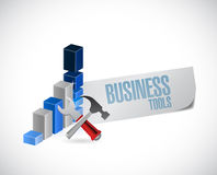 Business tool sign graph illustration design Royalty Free Stock Photography