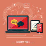 Business tools concept Royalty Free Stock Photo