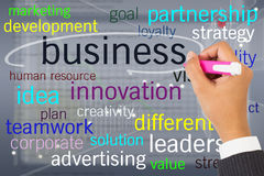 Business topic stock image