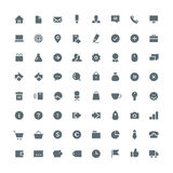 Business total icon set 64 Royalty Free Stock Photo