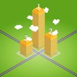 Business Tower Rank Stock Photos