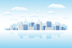 Business town Royalty Free Stock Image