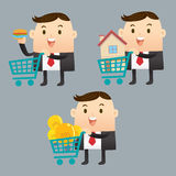 Business trading Stock Image