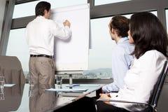 Business training Stock Photo