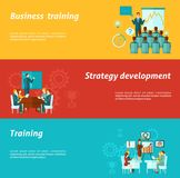 Business Training Banners Royalty Free Stock Images