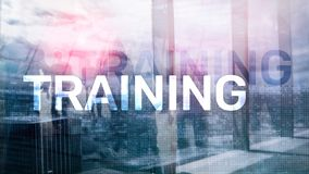 Business training concept. Training Webinar E-learning. Financial technology and communication concept.  stock photos