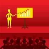 Business training and seminar concept design Stock Photos