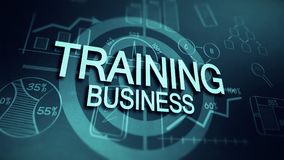 Targeted training is a successful business Royalty Free Stock Images