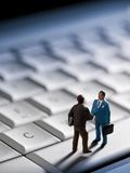 Business transaction Stock Photography
