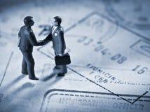 Business transaction Stock Photo