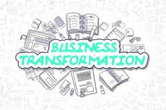 Business Transformation - Business Concept. Stock Photography