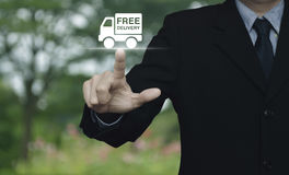 Business transportation concept Royalty Free Stock Photo