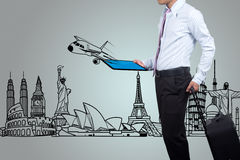 Business travel. Royalty Free Stock Photo