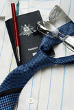 Business travel australia Stock Photo