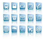 Business and Travel Icon Pack Royalty Free Stock Photos