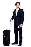 Business travel. This image has attached release Stock Photos