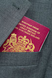 Business Travel Image Of Passport Royalty Free Stock Photography