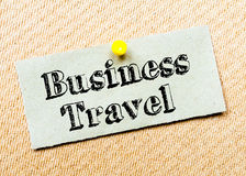 Business Travel Message Stock Images