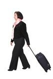 Business travel -woman Royalty Free Stock Photo