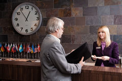 Business Traveler Stock Photography