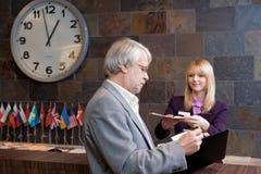 Business traveler Royalty Free Stock Photos