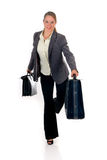 Business traveler briefcase Royalty Free Stock Photo
