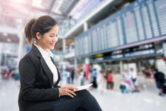 Business traveler Royalty Free Stock Image