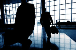 Free Business Travelers Airport Transportation Flight Concept Royalty Free Stock Photos - 50766558