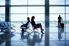 Business travelers Stock Photos