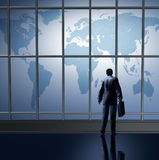 Business traveling international Stock Photos