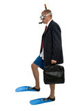 Business traveller Stock Images